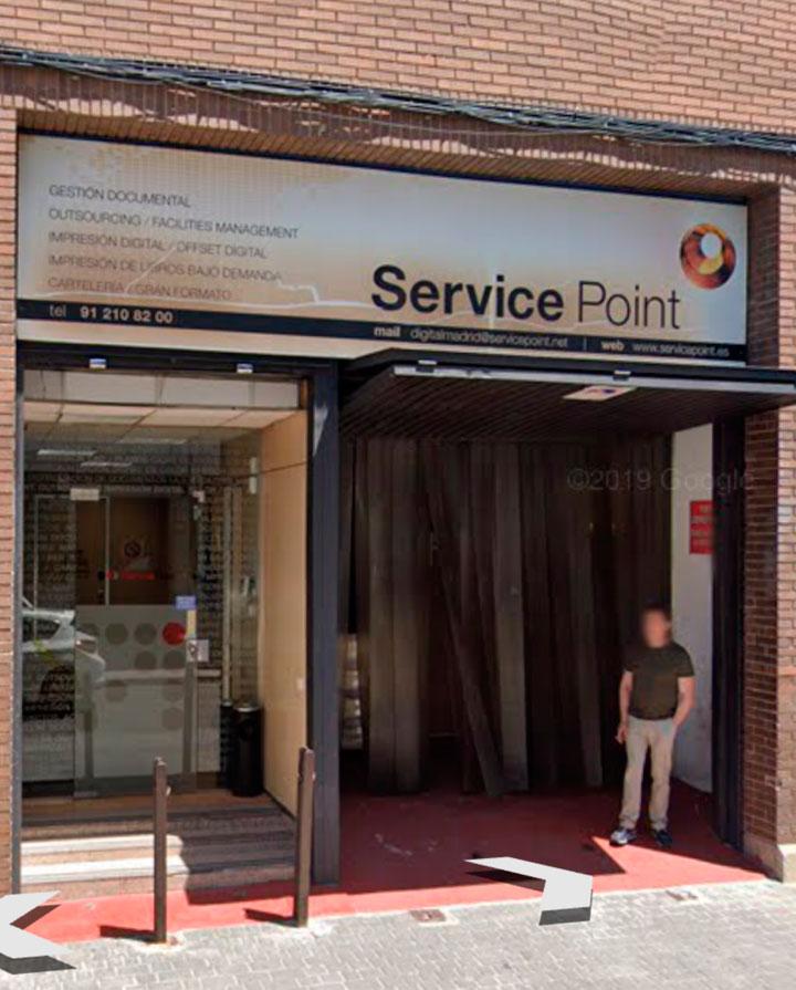 Service Point fachada