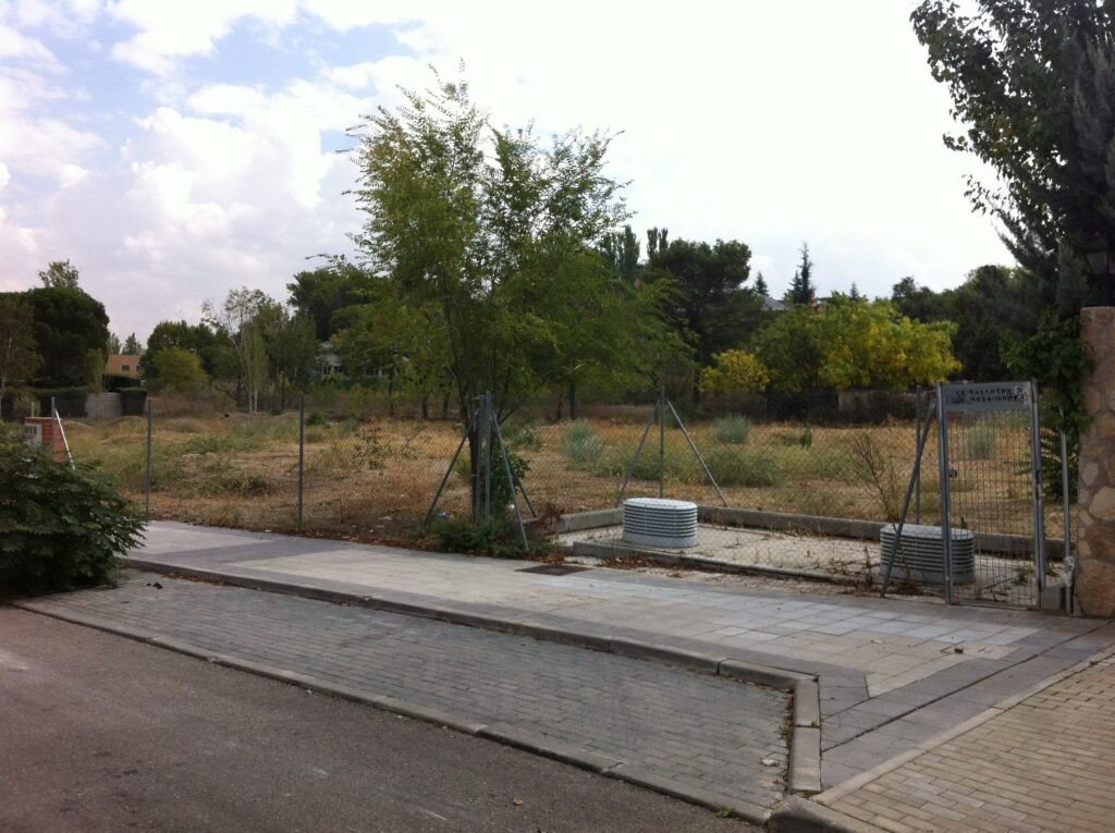 suelo urbanizado
